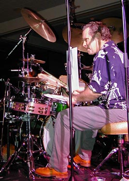 Tony Braunagel : drums